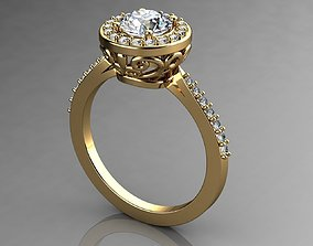 3D print model Engagement Rings Brilliant Earth Diamond