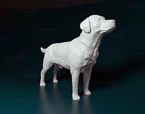 figurines 3D print model Labrador dog