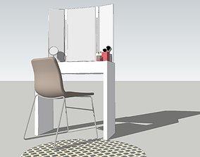 decor 3D printable model Dressing