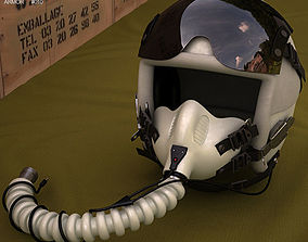 Flight Helmet 3D model