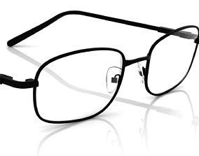 Eyeglass for Men 3D print model magnify