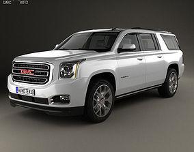 3D GMC Yukon XL 2014