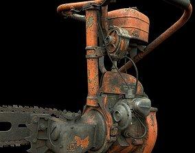 Chainsaw DRUZHBA 3D asset
