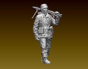 mg 3D printable model German soldier