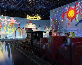 Children amusement park 08 3D model
