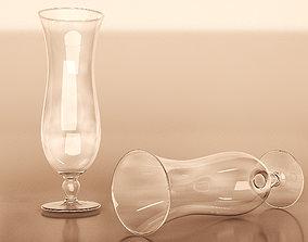 3D asset Hurricane Cocktail Glass