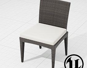 3D model Dedon Panama Chair 003 UE4