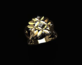 Fashion Ring turky 3D printable model