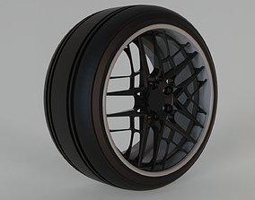 3D tire und rims cocnept tuning part