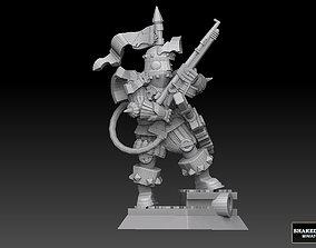 Techno Knight 3D printable model