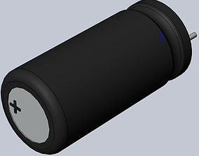 Hitano ECR capacitors 3D model