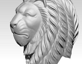 cnc Lion head 3D print model