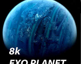 8K Photorealistic Exo Planet 3D model