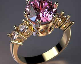 3D printable model Soliter Ring