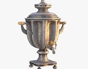 Moscow Samovar 3D Model for 3ds Max VR / AR ready