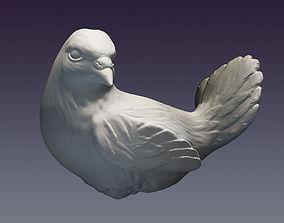 3D printable model Decorative dove