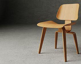 3D LCW - Lounge Chair Wood