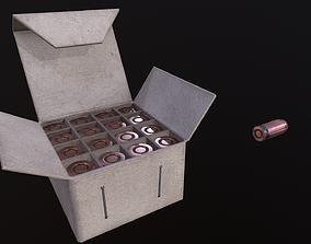 3D model Ammo Box and cartridges