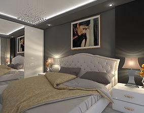 Bedroom Modern Tailand 3D asset