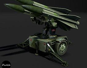 Hawk Launcher MIM-23 3D asset