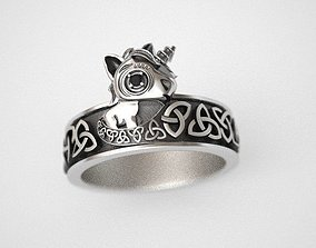 3D print model Unicorn Ring - replica