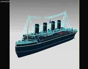 Titanic 3d model liner