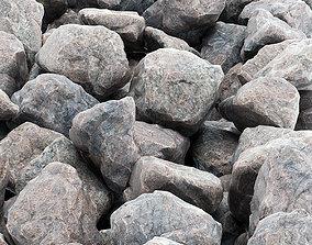 Rock stone road 3D