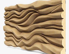 parametric wall 06 3D model