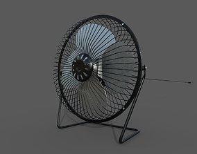 Detailed Fan - SubD 3D