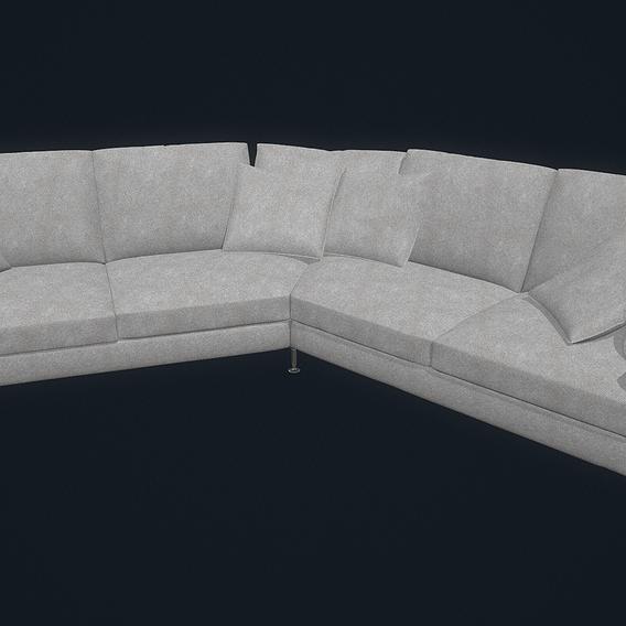 B B Harry Large Sofa