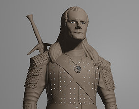 3D printable model THE WITCHER