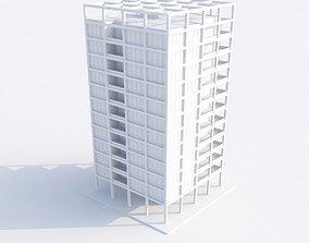 exterior 3D model Building