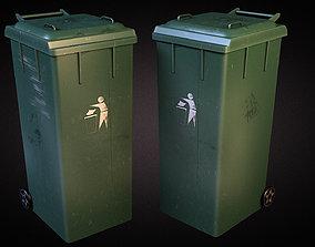 3D asset Trash Dumpster