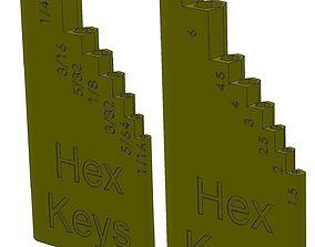 Hex Key Holder 3D print model