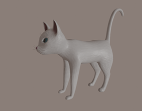 Cat model rigged