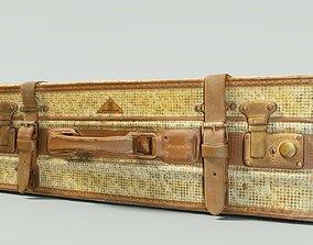 Vintage Suitcase Retro Valise 3D model realtime