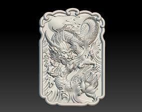 sculpture 3D print model Dragon