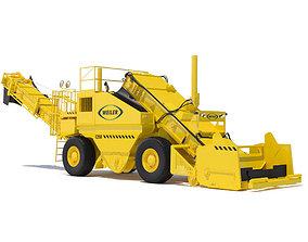 3D model Weiler E2850 remixing transfer vehicle