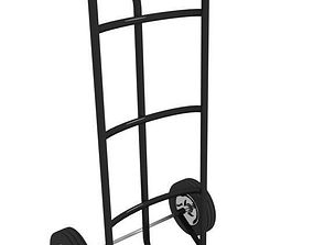 Two Wheeled Trolley 3D
