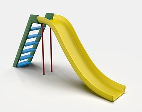 kids outdoor Slide 3D model