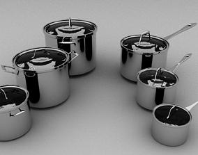 Cookware 3D asset