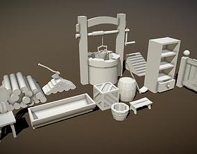 3D model Farm Tools