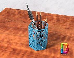 Pen pencil holder 3D print model