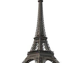 Eiffel Tower of Paris 3D steel