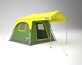 Camping Tent jeeptent 3D model