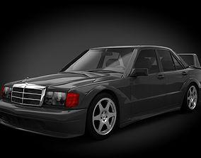 3D Mercedes Benz 190 Evolution II 1990