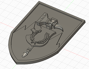3D print model Warhammer Fantasy Sigmar Badges