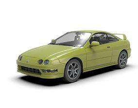 Acura Integra Type R 3D model
