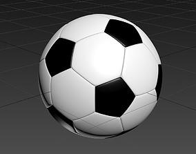 3D model Soccer ball high poly