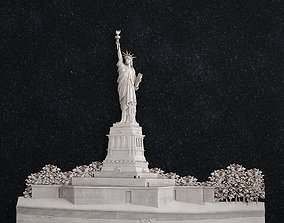 The Statue of Liberty 3D printable model